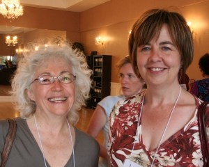 Janet Irwin and Laurie Steven