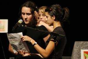 Student presentation from De La Salle arts High School - courtesy of Ming Wu Photos
