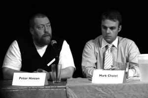 Peter Hinton and Mark Chatel - courtesy of Ming Wu Photos