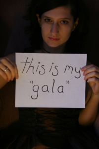 "this is my ""gala"""