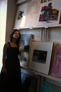La Petite Mort Gallery showcases unique and often controversial works by local artists in a downtown studio.