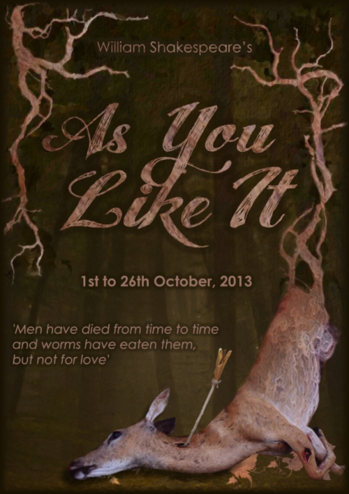 As You Like It FLYER FRONT