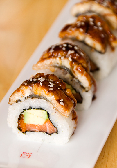 I will wait for no other sushi but this.